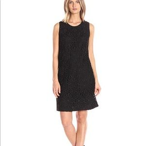 Adrianna Papell Lace Trapeze Dress